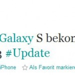 Bude v březnu update pro Samsung Galaxy S na Android 2.3 Gingerbread ?