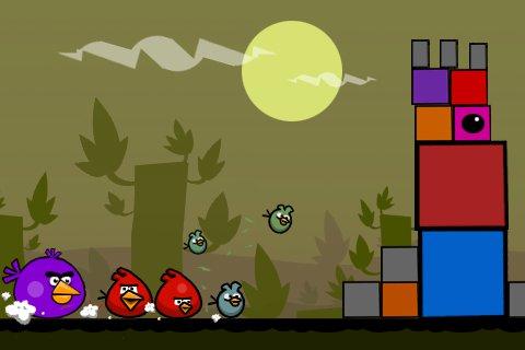 Как создать игру angry birds