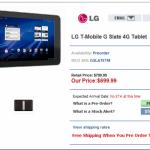 Android 3.1 pro LG Optimus Pad (G-Slate) již dnes