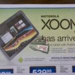 WiFi verze Motoroly Xoom za $599 již 27. března