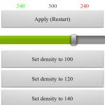 LCDDensity for Root – více informací na displeji