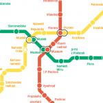 aMetro – mapy linek metra z celého světa