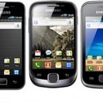 Samsung oznámil Gingerbread aktualizaci pro celou řadu Galaxy