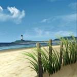 My Beach Free – privátní pláž na pozadí telefonu