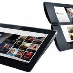 Krátké video ukazující tablety Sony S1 a S2 naživo