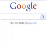Novinka na mobilní stránce Google: ikonky Places (Místa) pro rychlé vyhledání zajímavých míst v okolí