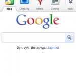 Nová verze mobilních stránek vyhledávače Google