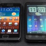 Videosrovnání Samsung Galaxy S II a HTC Evo 3D