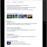 Google vylepšil své mobilní webové stránky pro tablety s Honeycombem  a iPad