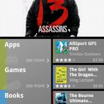 Google začal skrze Android market prodávat knihy a filmy + nový Android market