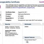Samsung Nexus Prime získal Wi-fi certifikaci