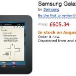 Samsung Galaxy Tab 8.9 se začne v UK prodávat už 12. srpna