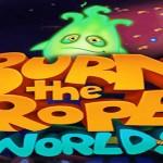 Burn the Rope: Worlds – 100 nových úrovní, 4 nové světy a denodenní aktualizace