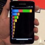 Samsung Galaxy Note zazářil v Quadrantu