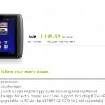 Archos G9 tablety s 1,5GHz procesorem odloženy na rok 2012