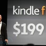 Amazon představil tablet Kindle Fire bude stát $200