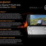 Sony Ericsson ve spolupráci s EA Games nabízí 4 herní pecky zdarma