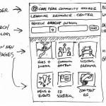 Tvorba skic a prototypování mobilní aplikace