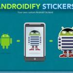 AndroidifyMe – nechte si vytisknout vlastní andoridí samolepku