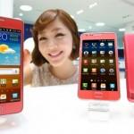 Samsung Galaxy S II v slušivé růžové a Tab 10.1 v lionské edici