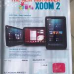 """8,2"""" Motorola Xoom 2 – Honeycomb, Vánoce a €400"""