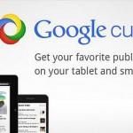 Google Curents – internetová média přehledně v jedné aplikaci
