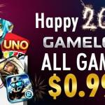Novoroční výprodej od Gameloftu právě odstartoval