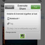 Dolphin vydal plugin pro aplikace Evernote a Skitch