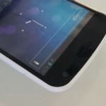 Bílý Galaxy Nexus na fotografiích