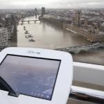 Samsung Galaxy Tab 10.1 najdete i v Londýnském oku