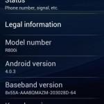 Unikl Ice Cream Sandwich pro Sony Ericsson Xperia Play