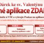 V Samsung Apps najdete valentýnský dárek v podobě placených aplikací a her zdarma