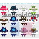 Jak bude vypadat třetí série figurek Androidů od Dyzplastic?
