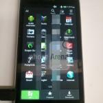 Fotografie nepředstaveného telefonu HTC s Androidem Ice Cream Sandwich a Sense 4.0