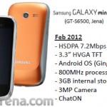 Samsung Galaxy Mini 2: první informace a uniklý obrázek
