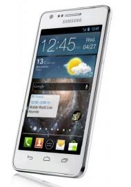 Údajná fotografie zařízení z MWC od Samsungu, možná právě Galaxy S II Plus (via @eldarmurtazin).