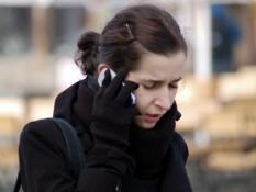 Telefonování v zimě