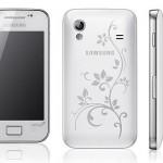 Limitovaná serie Samsung Galaxy Ace La Fleur