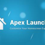 Apex Launcher je nyní dostupný také v placené verzi