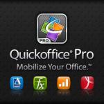 Quickoffice 5.5 přináší mnoho nových funkcí pro úpravu dokumentů