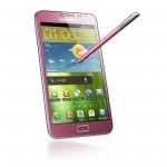Růžový Samsung Galaxy Note se v Evropě začne prodávat během června