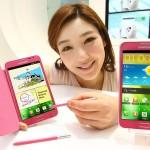 """Samsung představil Galaxy Note v růžovém provedení """"Berry Pink"""""""