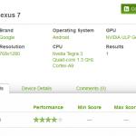 Nexus tablet se objevil v benchmarku. Bude mít Android 4.1