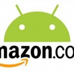 Amazon AppStore oznámen pro Anglii, Německo, Francii, Španělsko a Itálii