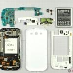 Samsung Galaxy S III rozebrán. Má stejný senzor fotoaparátu jako iPhone 4S