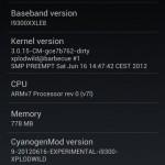 Vychází první CyanogenMod 9 pro Samsung Galaxy S III