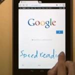 Google umožňuje zapisovat ručně do mobilního vyhledávání