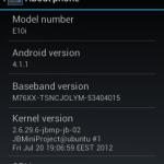 ROM: CM10 na Xperia X10 mini a Xperia X8
