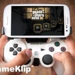 GameKlip – propojení smartphonu a herního ovladače z PlayStationu 3
