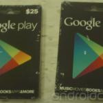 Google Play se dočká dárkových poukazů s kreditem